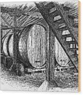 California: Winery, C1890 Wood Print