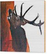 Call For Soulmate Wood Print