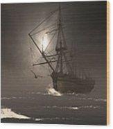Call Of The Hoot Wood Print