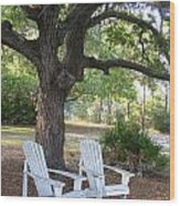 Callaway Chairs Wood Print