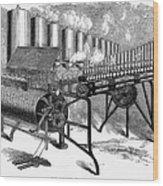 Calliope, 1859 Wood Print