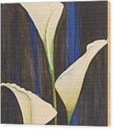Callis From The Beach Wood Print