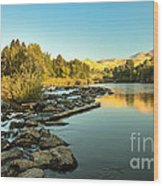 Calm Payette Wood Print