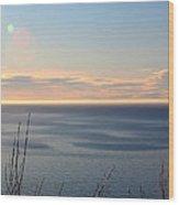 Calm Sea Wood Print