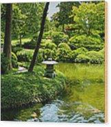 Calming Waters Wood Print