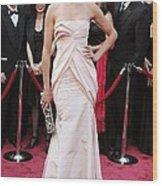 Cameron Diaz Wearing A Christian Dior Wood Print by Everett
