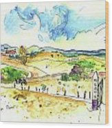 Campo Maior In Portugal 01 Wood Print