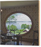 Campobello Island Roosevelts House Wood Print