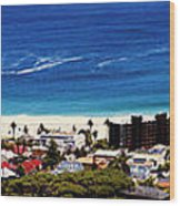Camps Bay Beach Wood Print