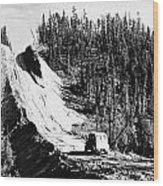 Canada: Alaska Highway Wood Print