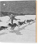Canada: Fur Trade, 1892 Wood Print