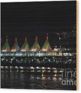 Canada Place Convention Center Wood Print