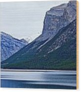 Canadian Lake 1726 Wood Print