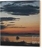Canadian Sunrise I Wood Print