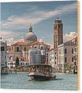 Canal Grande. Venezia Wood Print