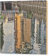 Canal Palette Wood Print