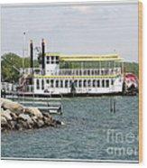 Canandaigua Lady Paddleboat Wood Print