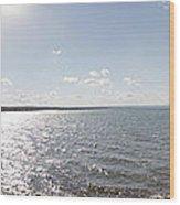 Canandaigua Lake Panorama Wood Print