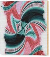 Candid Color 16 Wood Print