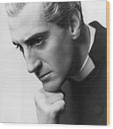 Candida, Basil Rathbone, Biltmore Wood Print by Everett