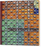 Candy Cage Wood Print