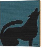 Canine  Wood Print