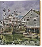 Cannery Hdr Wood Print