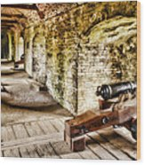 Cannons Of Dover Wood Print