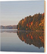 Canoe Lake  Algonquin Wood Print