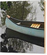 Canoe Wood Print