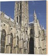 Canterbury Cathedral, Exterior Wood Print