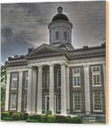 Canton Courthouse Back Wood Print