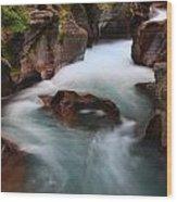 Canyon Creek Wood Print