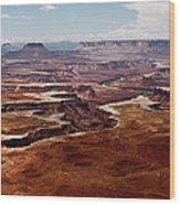 Canyon Lands Wood Print