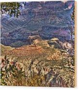 Canyon View II Wood Print