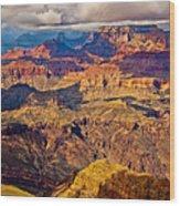 Canyon View Vi Wood Print
