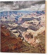 Canyon View Vii Wood Print
