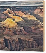 Canyon View Viii Wood Print