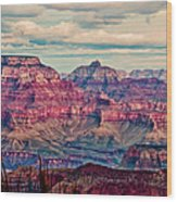 Canyon View Xii Wood Print