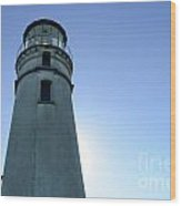 Cape Blanco Light 2 Wood Print
