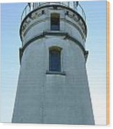 Cape Blanco Light Wood Print