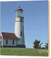 Cape Blanco Lighthouse 1 Wood Print