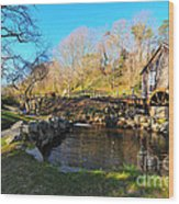 Cape Cod Grist Mill Wood Print