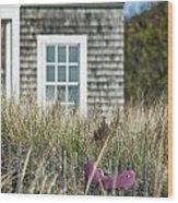 Cape Cod Summer Wood Print