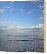 Cape Cod Summer Sky Wood Print by Juergen Roth