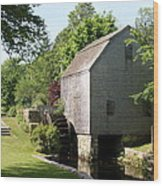 Cape Cod Water Mill Wood Print