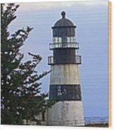 Cape D Lighthouse Wood Print
