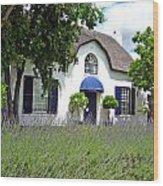 Cape Dutch Cottage Wood Print