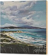 Cape Elias Skiathos Greece Wood Print