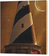 Cape Hatteras Wood Print